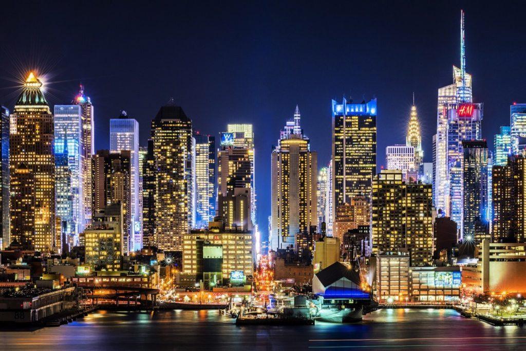 new york display video wall